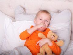 Ребенок кашляет не переставая